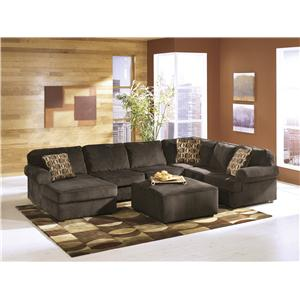 Ashley Furniture Vista - Chocolate Stationary Living Room Group