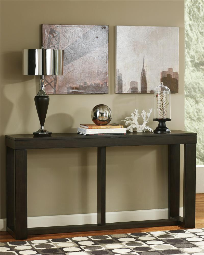 Watson Sofa Table by Signature Design by Ashley at Beck's Furniture