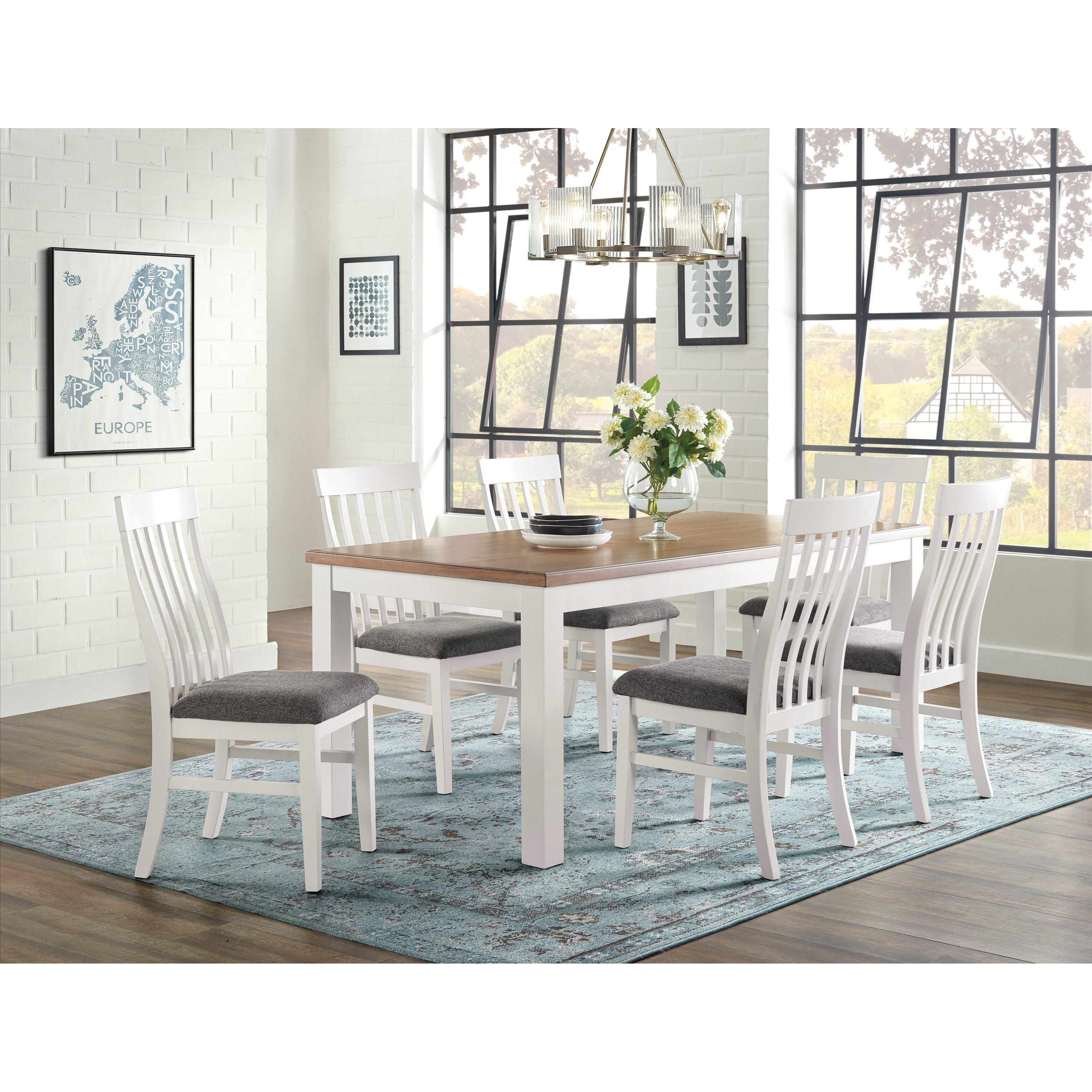 Westconi 7-Piece Dining Set by Ashley Furniture at HomeWorld Furniture