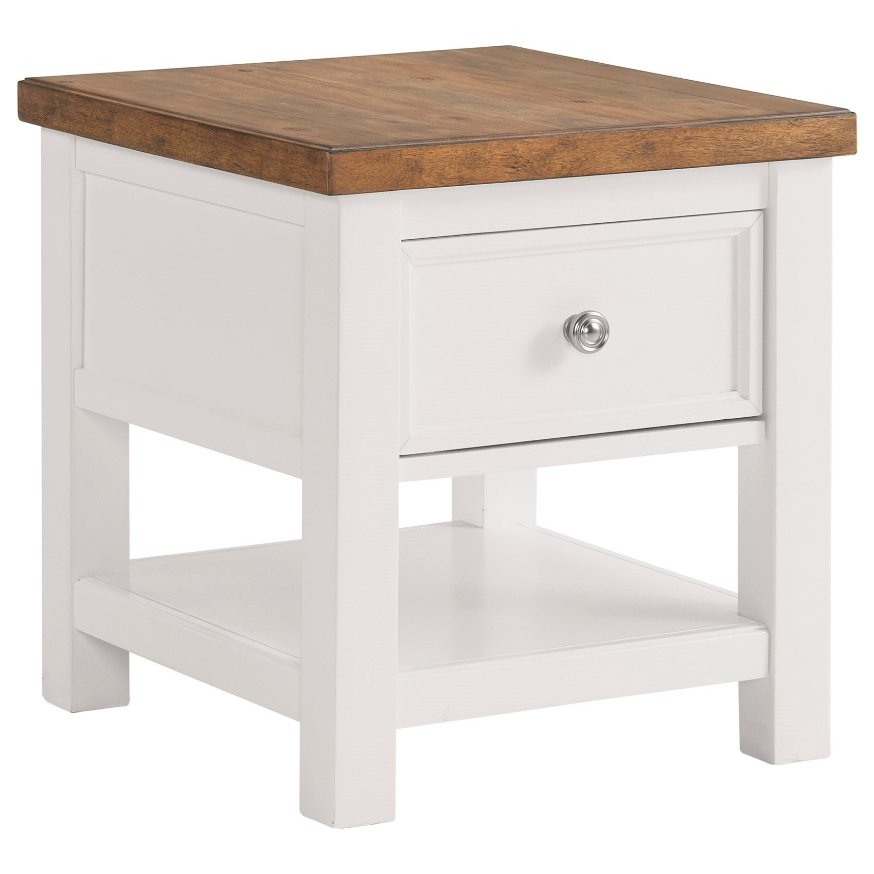 Westconi End Table by Ashley Furniture at HomeWorld Furniture