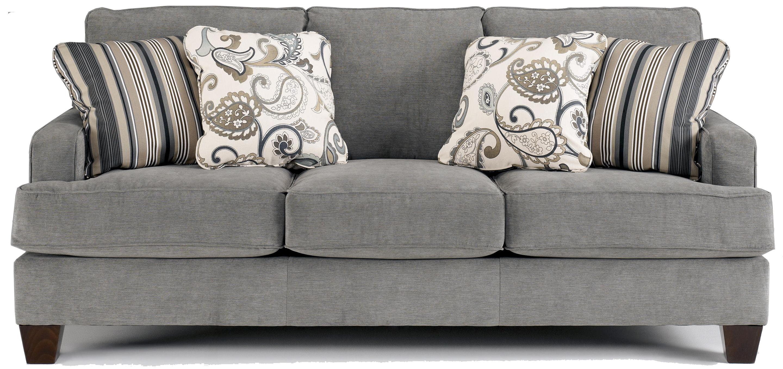 Yvette - Steel Sofa by Ashley Furniture at Lapeer Furniture & Mattress Center
