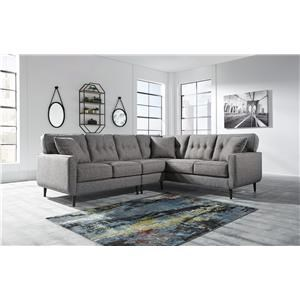 3 Piece Right Arm Facing Sectional