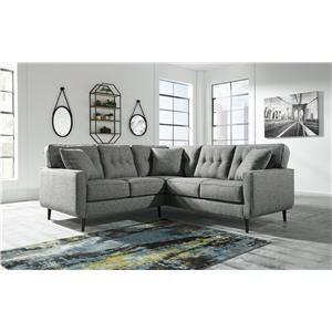 2 Piece Right Arm Facing Sectional with Accent Chair