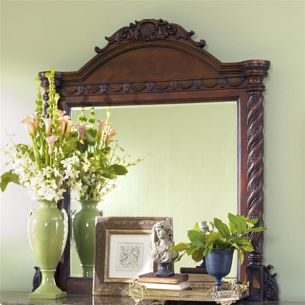 North Shore Dresser Mirror by Millennium at Beck's Furniture
