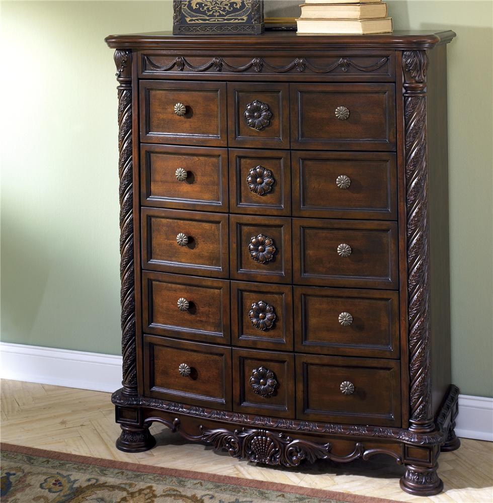 North Shore Chest of Drawers by Millennium at Lapeer Furniture & Mattress Center