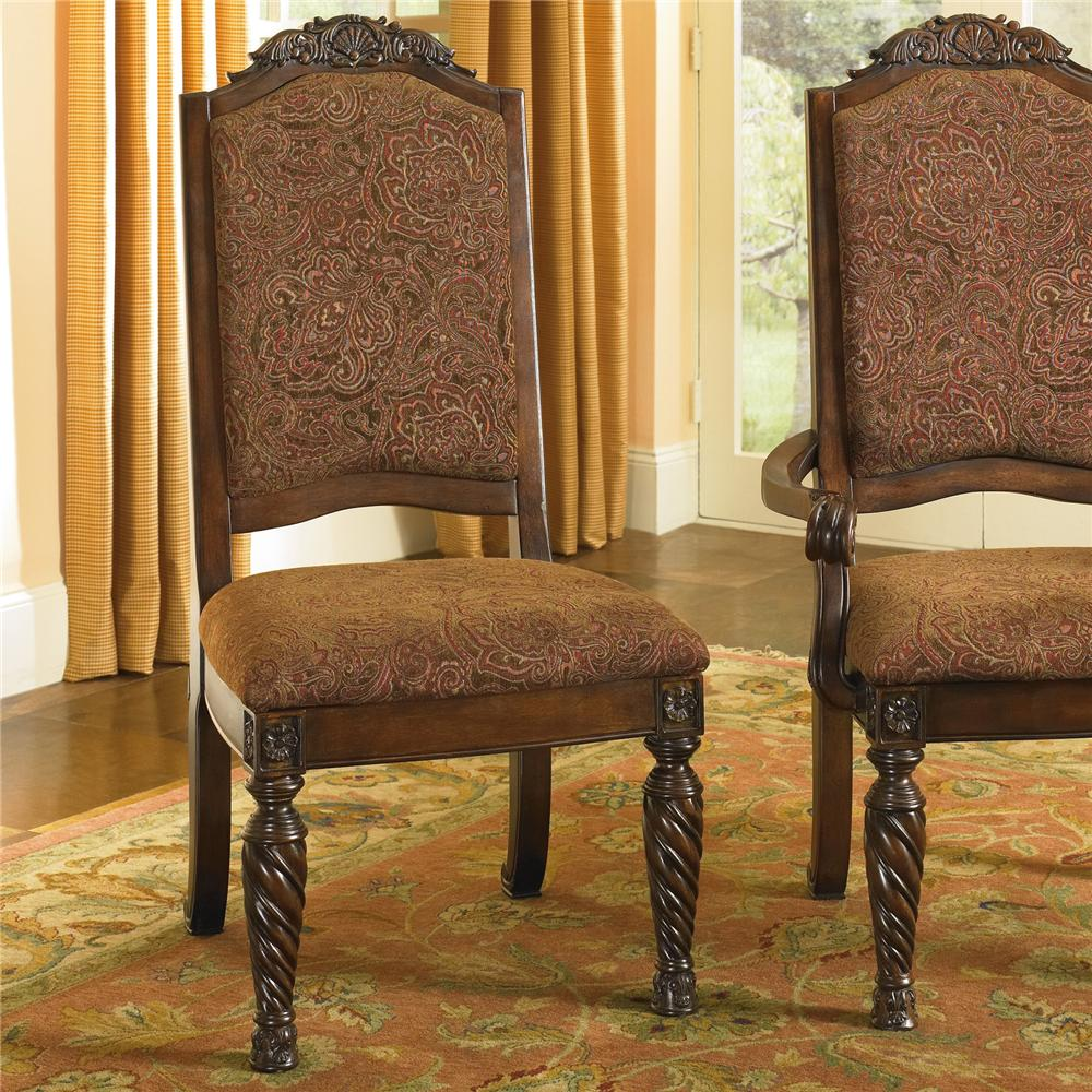 North Shore Dining Side Chairs by Millennium at Lapeer Furniture & Mattress Center