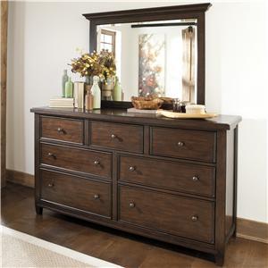 Millennium Hindell Park Dresser & Mirror Set