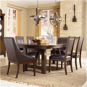 Millennium Holloway 7-Piece Extension Table Set
