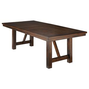 Millennium Holloway Rect Dining Room Extension Table
