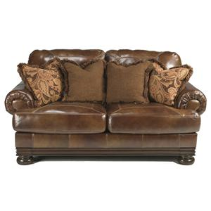 Signature Design by Ashley Hutcherson Traditional Loveseat