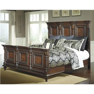 Millennium Key Town  Queen Mansion Panel Bed
