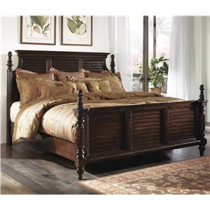 Millennium Key Town  Queen Headboard & Footboard Bed