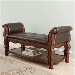 Millennium Ledelle Upholstered Bench