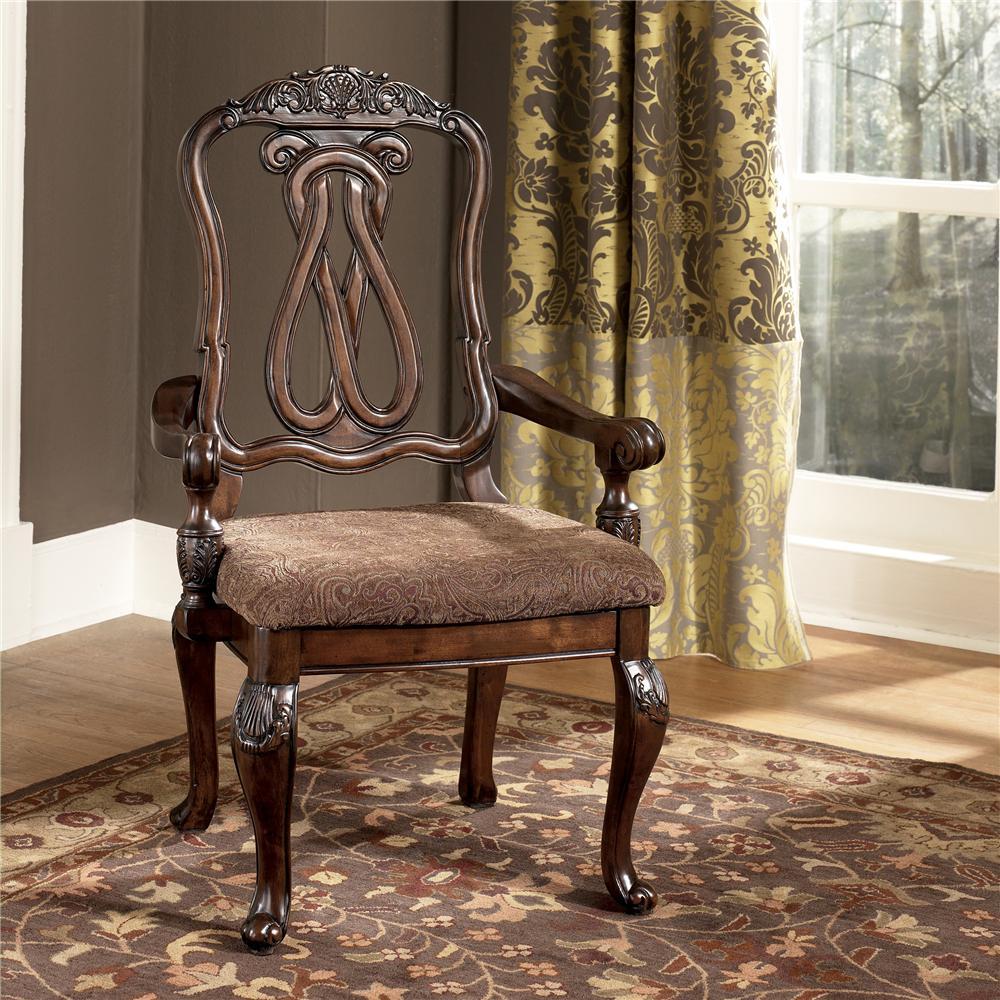 North Shore Arm Chair by Millennium at Lapeer Furniture & Mattress Center