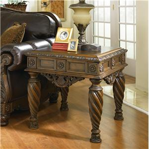 Millennium North Shore Square End Table