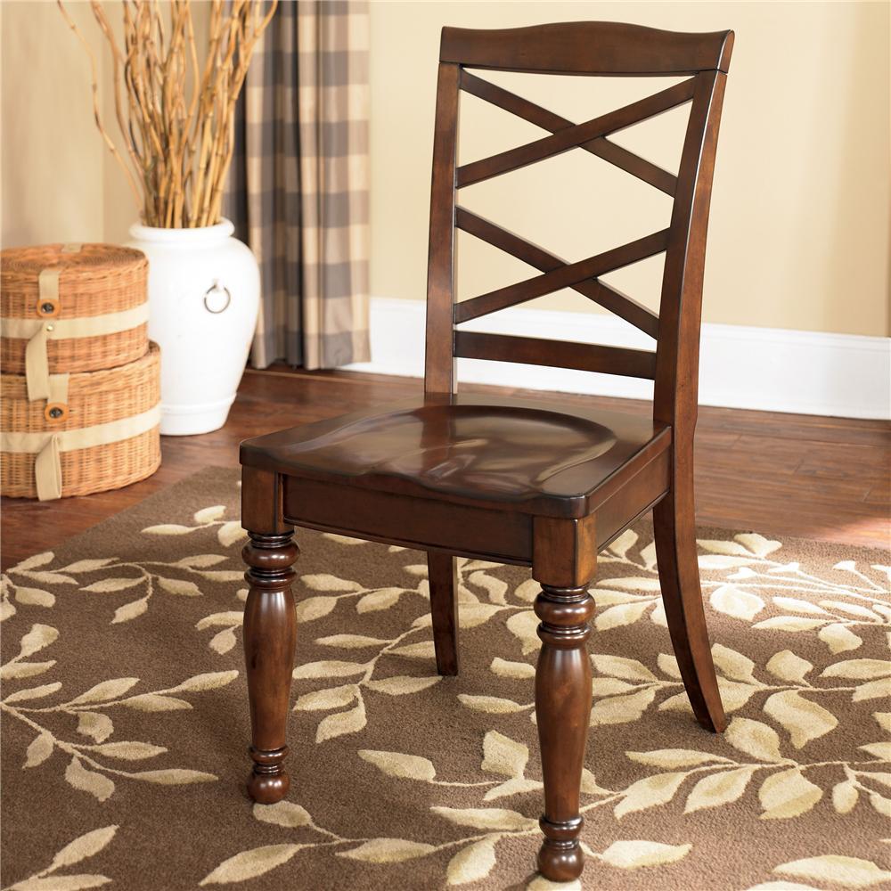 Porter Side Chair by Ashley Furniture at Sam Levitz Furniture