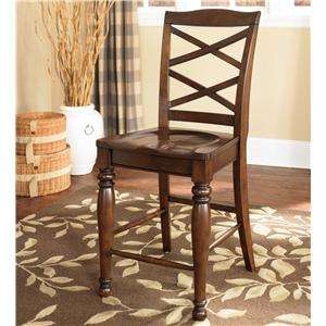 Ashley Furniture Porter House 24 Inch Bar Stool