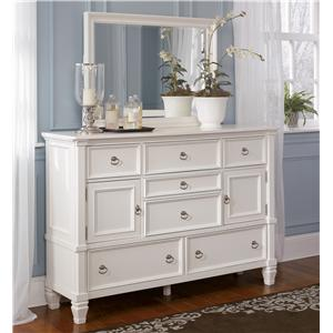 Millennium Prentice Dresser and Mirror Combination