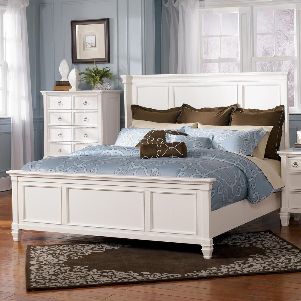 Prentice Queen Size Panel Bed by Millennium at Rooms and Rest