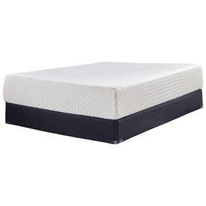 "King 12"" Memory Foam Mattress-in-a-Box and Foundation"