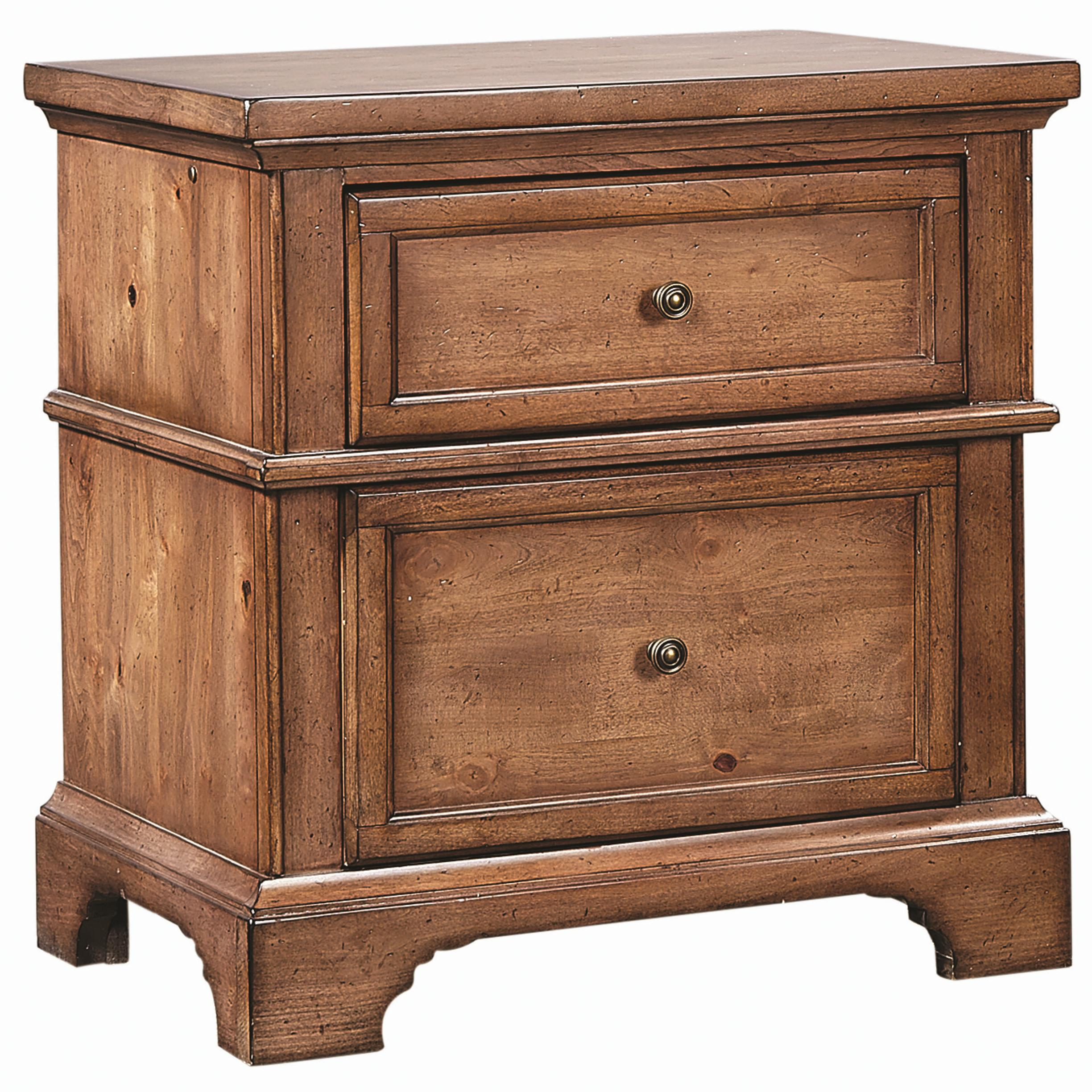 Alder Creek Liv360 Nightstand by Aspenhome at Virginia Furniture Market