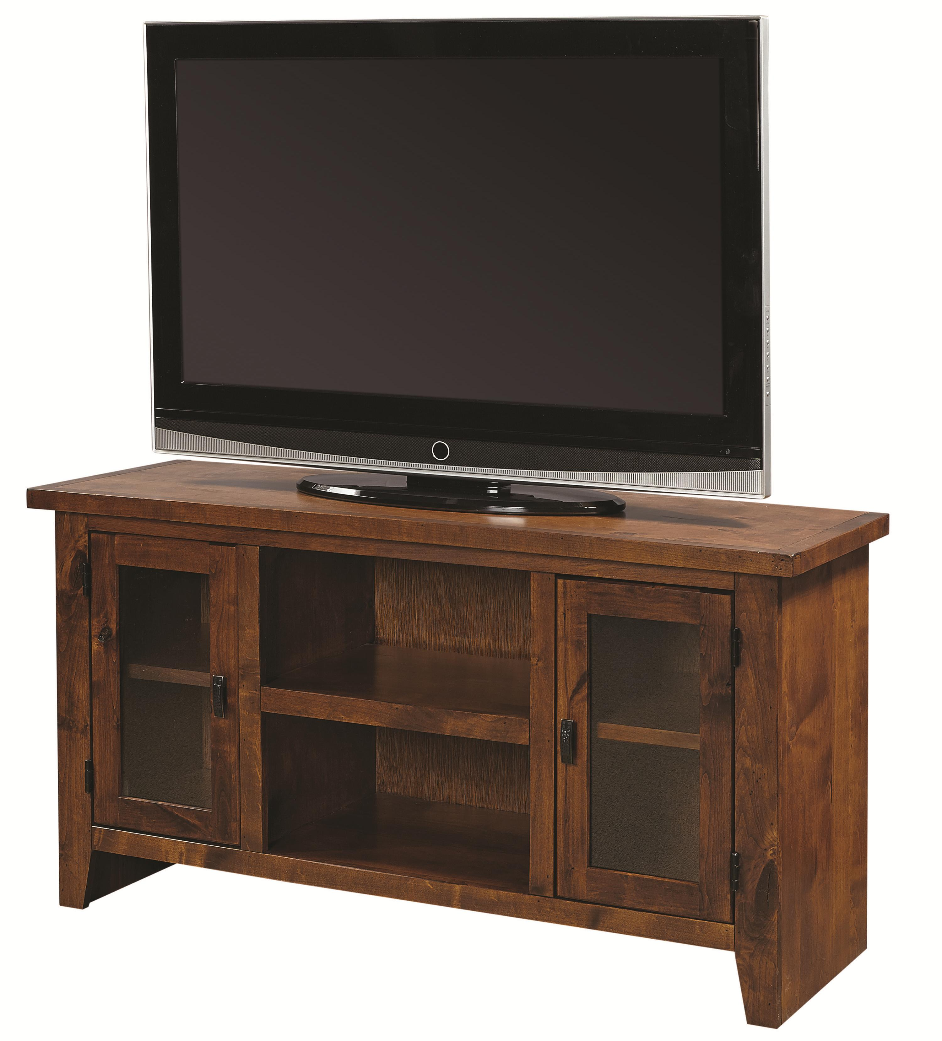"Alder Grove 50"" Console with Doors by Aspenhome at Bullard Furniture"