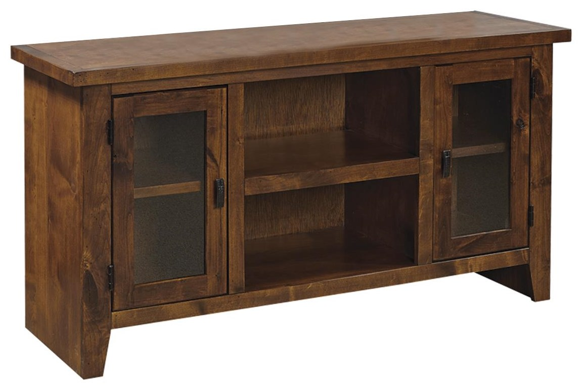 """50"""" Console with Doors at Sadler's Home Furnishings"""