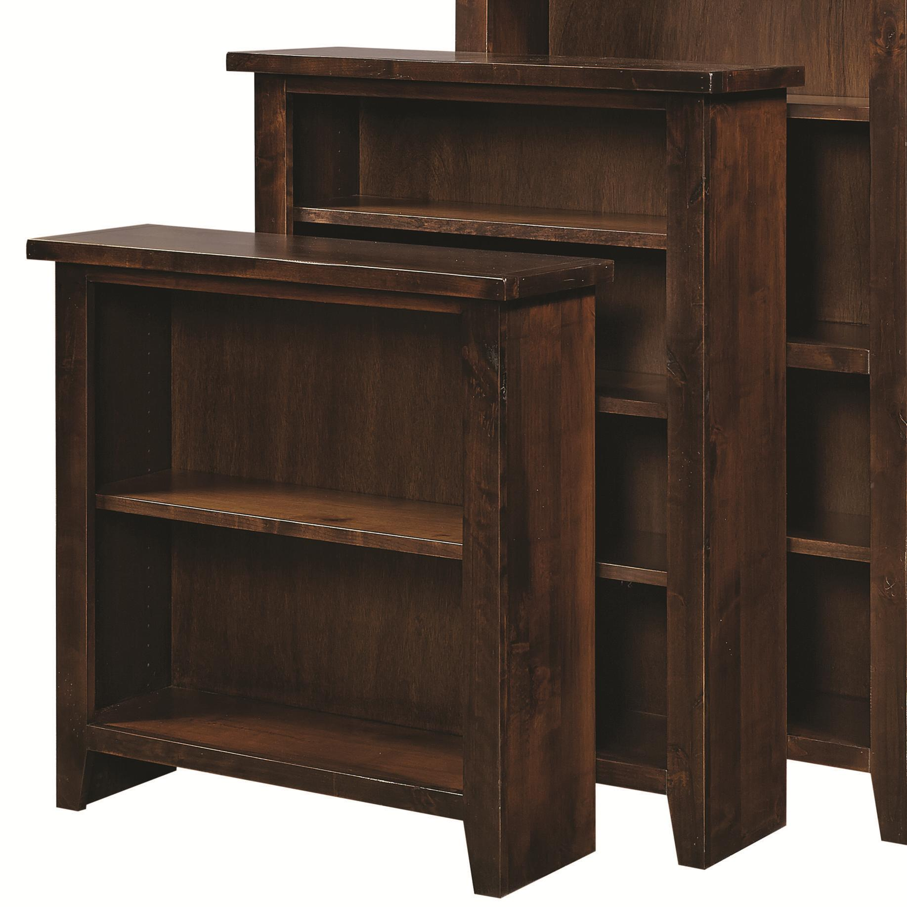 "Alder Grove Bookcase 48"" Height with 3 Shelves by Aspenhome at Baer's Furniture"