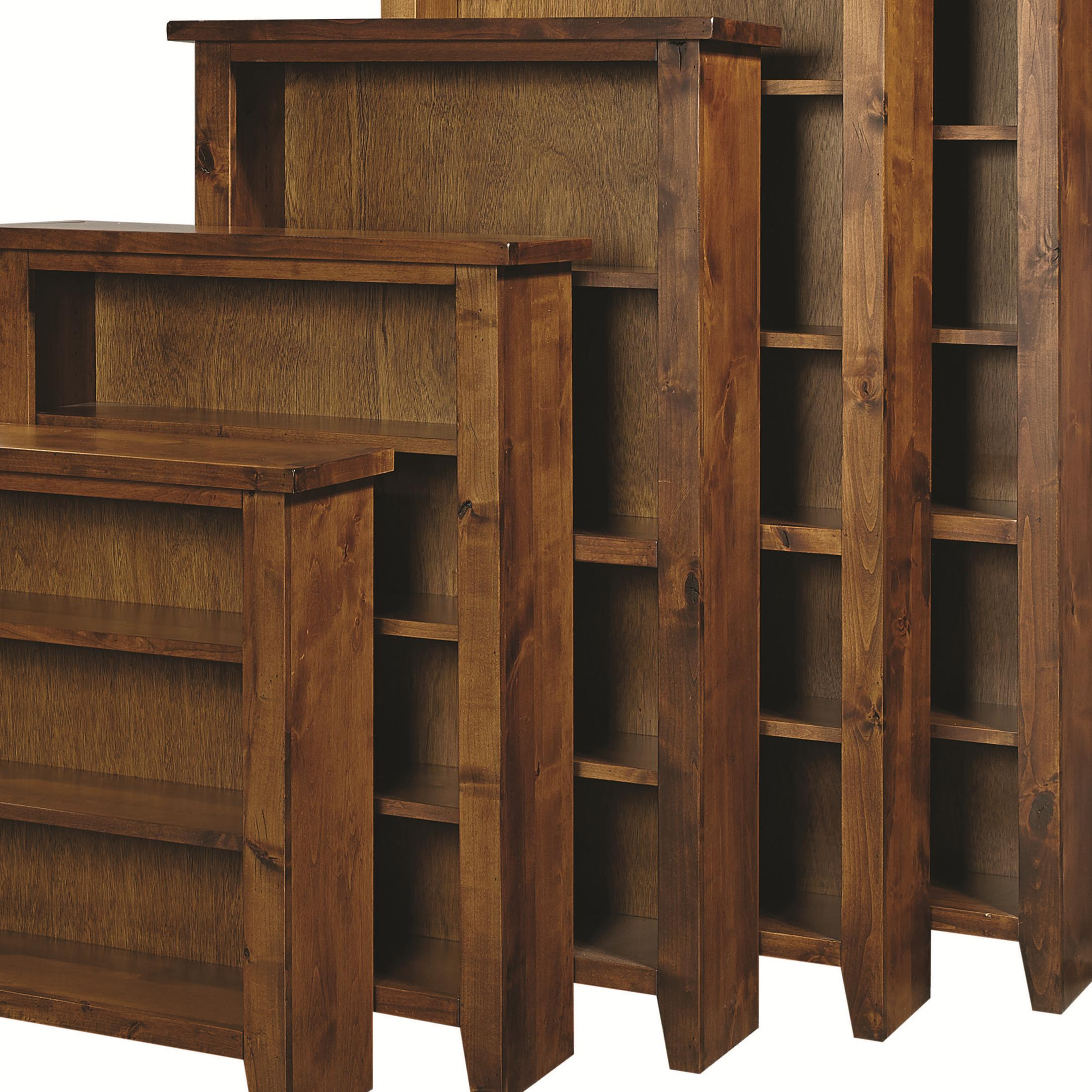 "Alder Grove Bookcase 60"" Height with 3 Shelves by Aspenhome at Fashion Furniture"