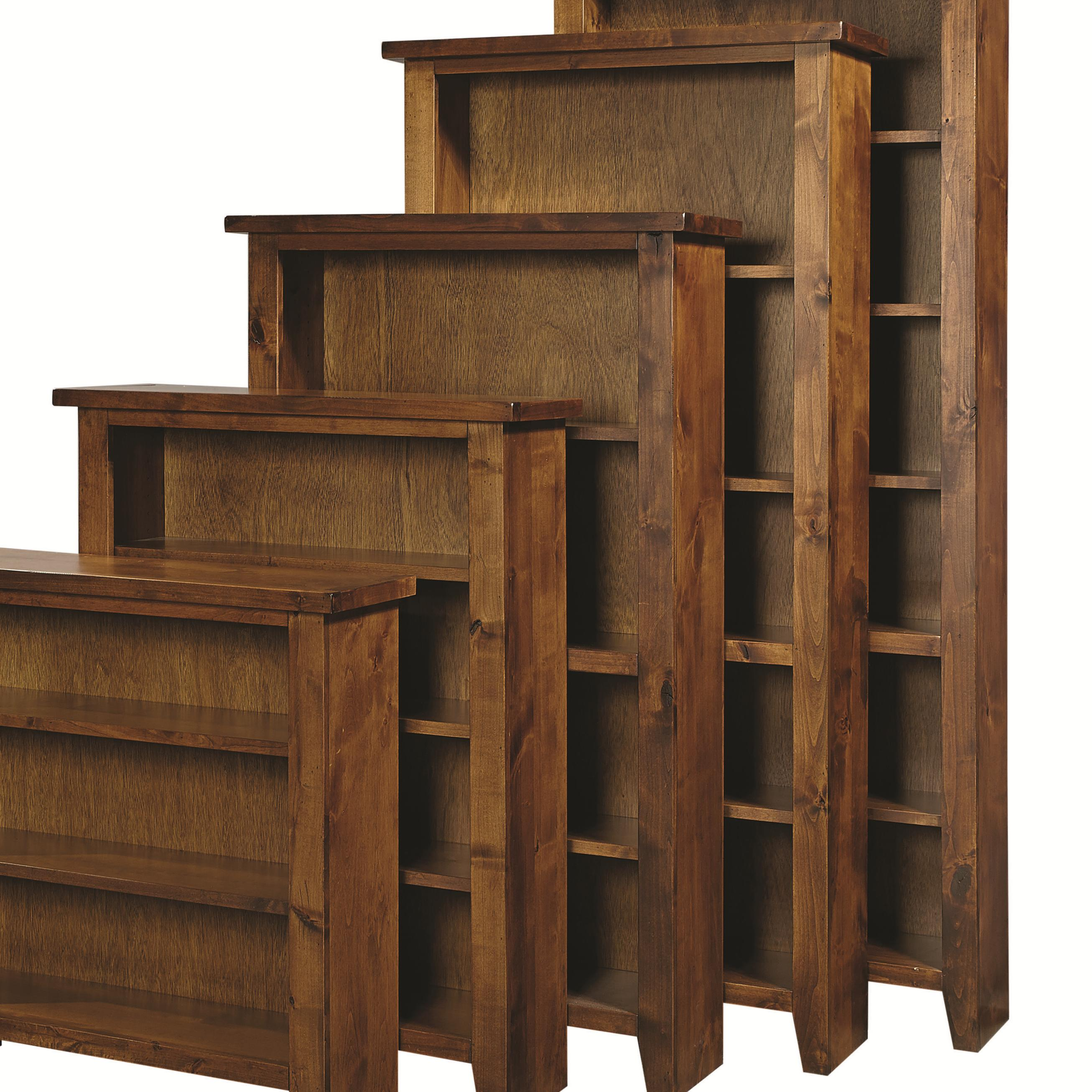 """Bookcase 74"""" H with 4 Shelves"""