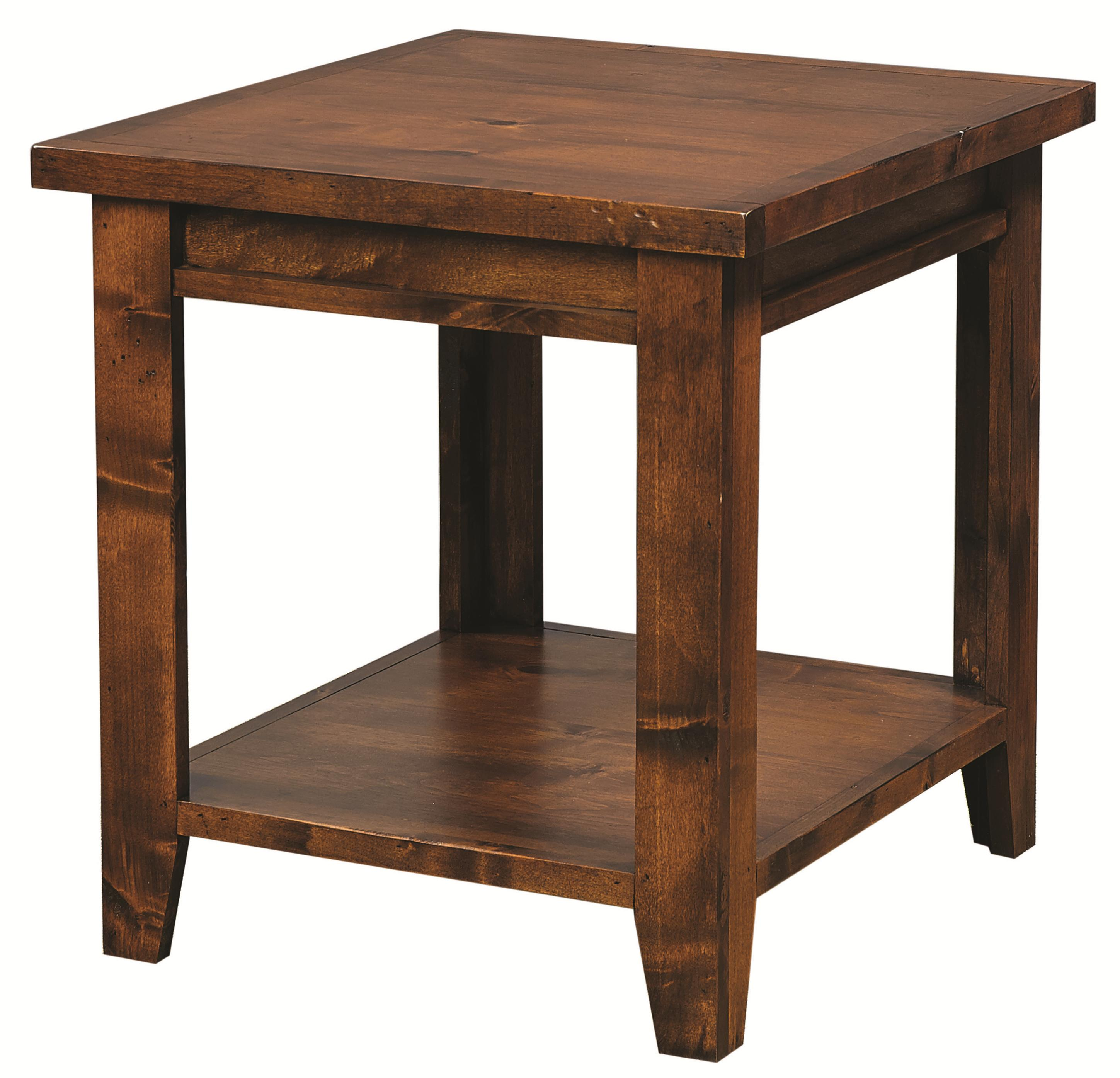 Alder Grove End Table by Aspenhome at Fashion Furniture