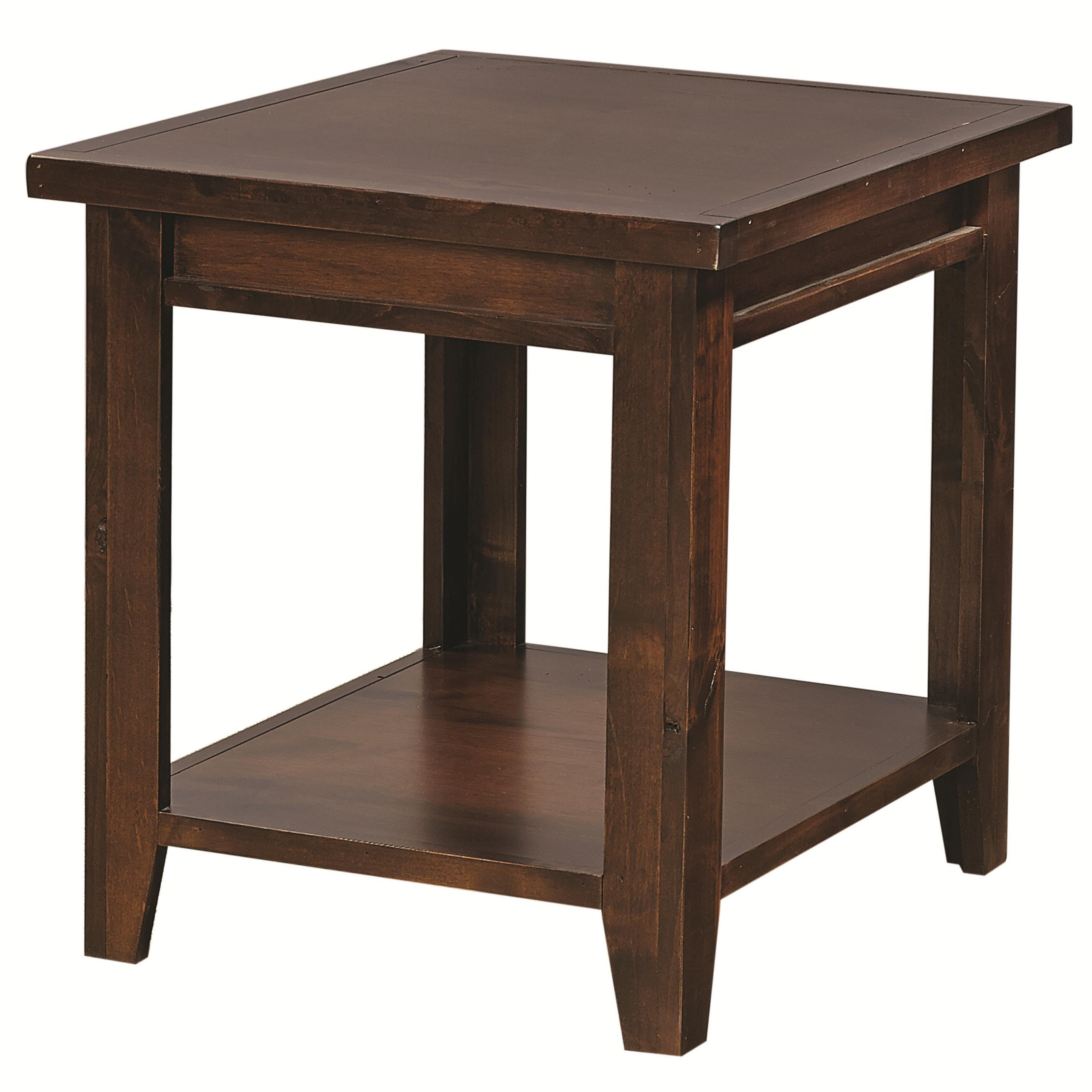 Alder Grove End Table by Hills of Aspen at Ruby Gordon Home