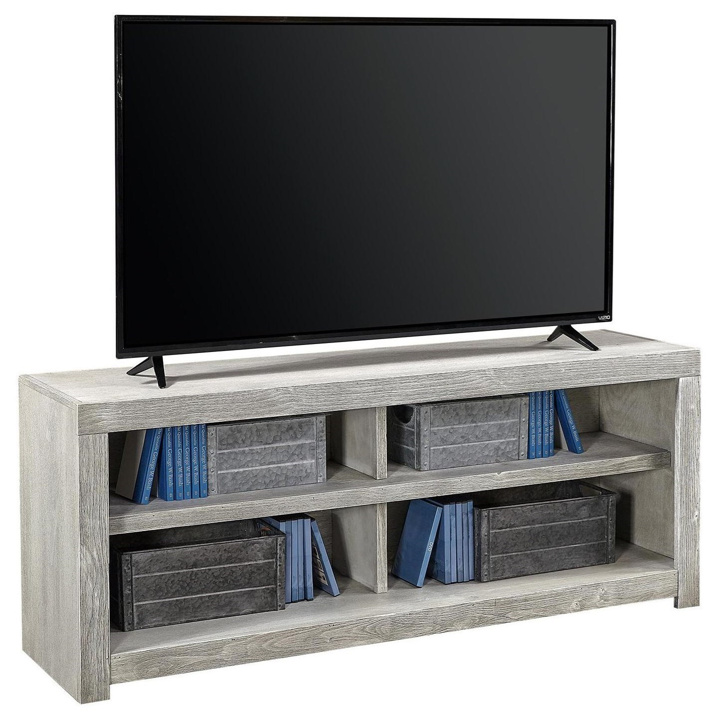 "Avery Loft 60"" TV Console by Aspenhome at HomeWorld Furniture"