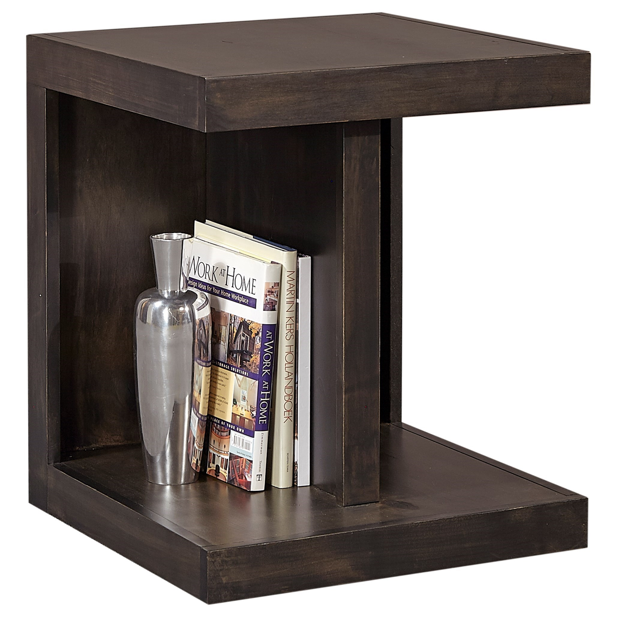 Avery Loft End Table by Aspenhome at Fisher Home Furnishings