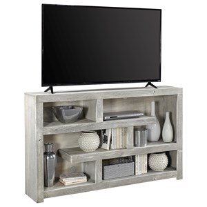 "Contemporary 60"" TV Console with Open Shelving"