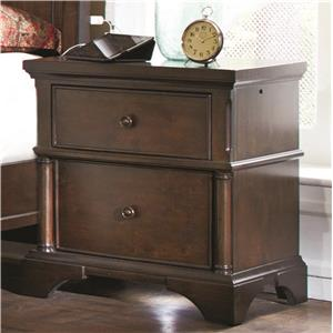 2 Drawer Liv360 Nightstand