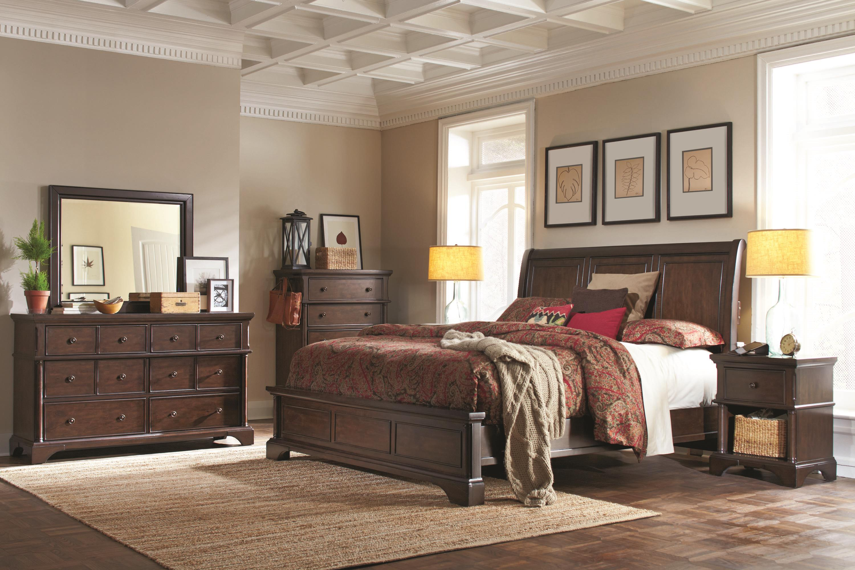 Bancroft King Bedroom Group by Aspenhome at Mueller Furniture