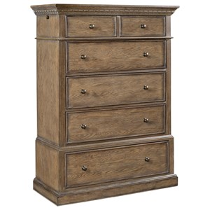 5 Drawer Chest with Pullout Rod