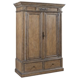 Armoire with AC Outlets