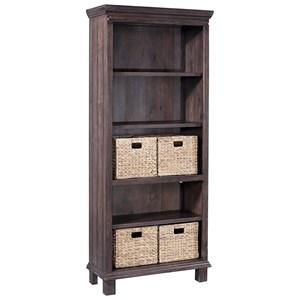 5 Shelf Bookcase with Baskets