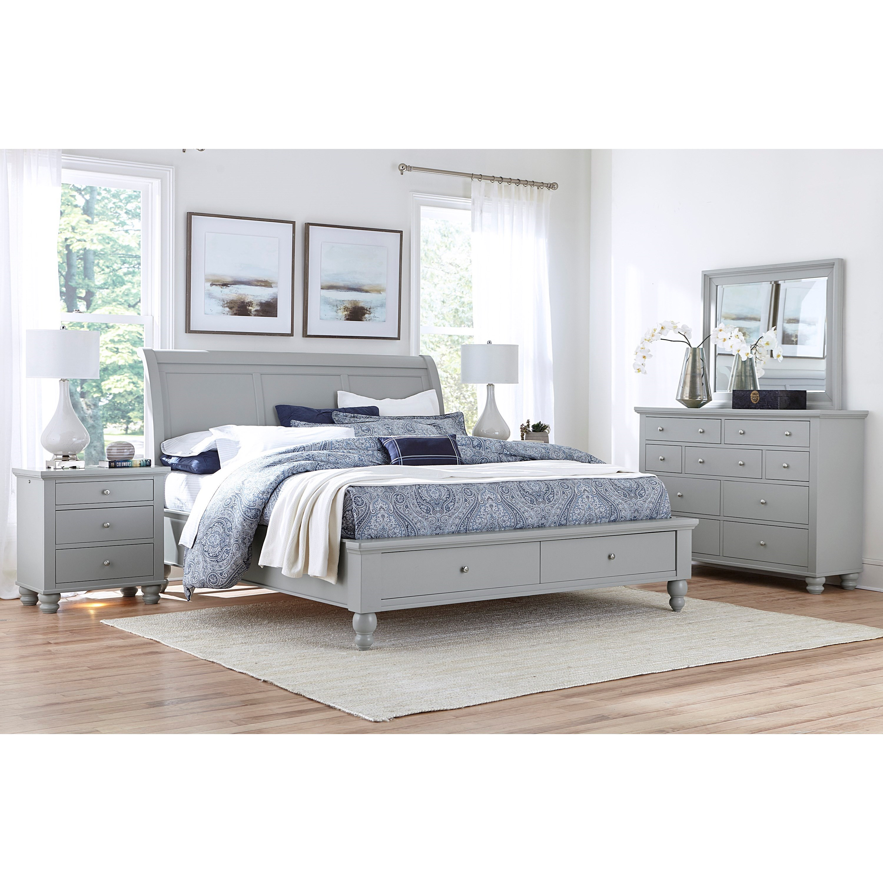 Cambridge Queen Bedroom Group by Aspenhome at Bullard Furniture