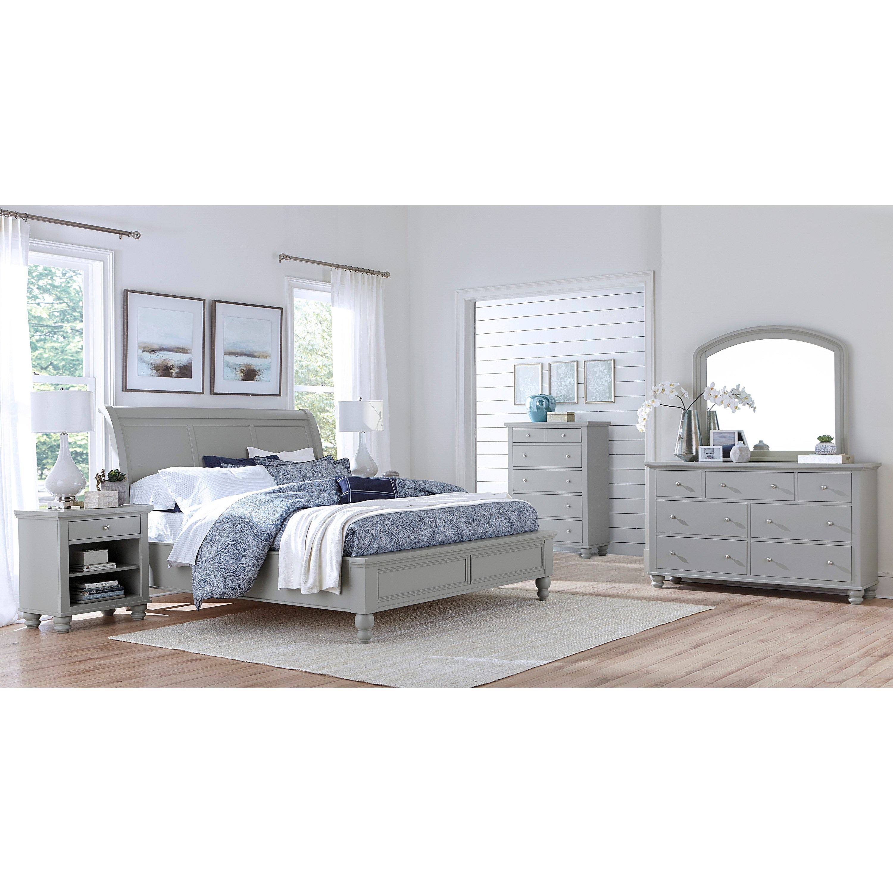 Cambridge California King Bedroom Group by Aspenhome at Walker's Furniture