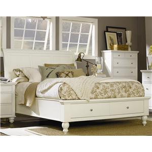 King Sleigh Bed With Storage Drawers and USB Ports