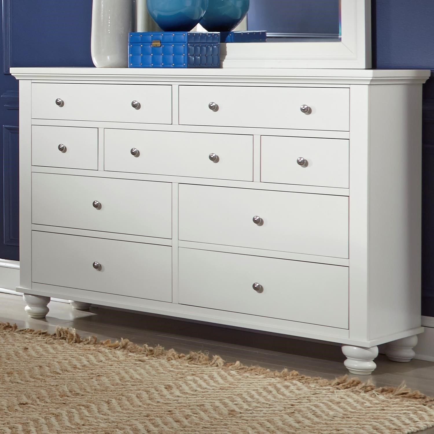 Cambridge 7 Drawer Double Dresser  by Hills of Aspen at Ruby Gordon Home