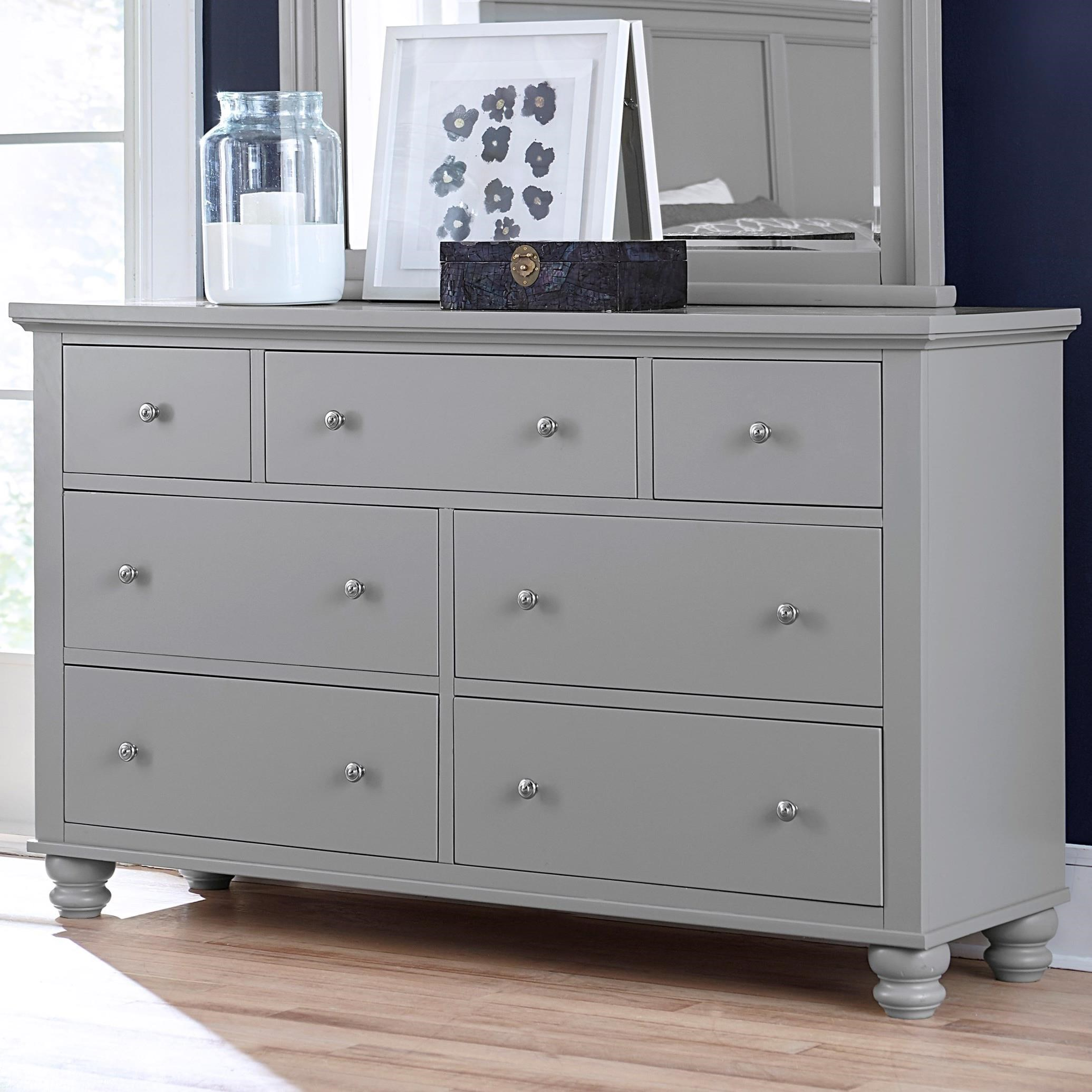 Cambridge 7 Drawer Double Dresser  by Aspenhome at Walker's Furniture