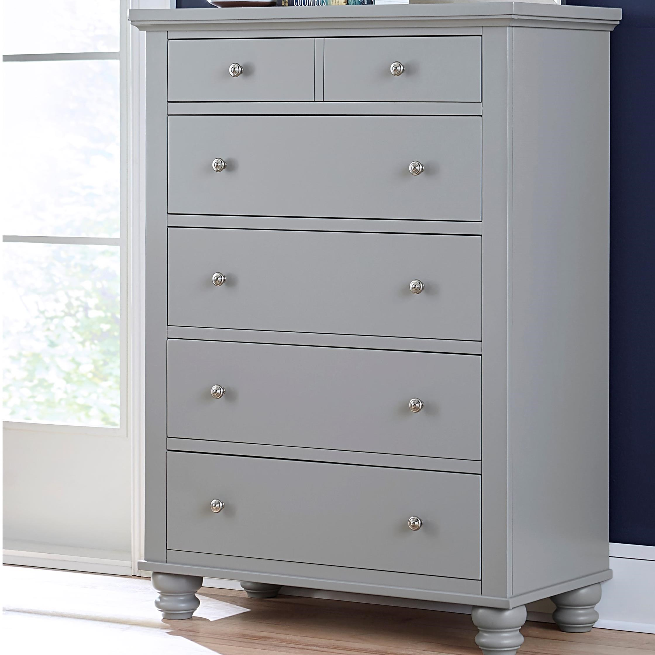 Cambridge 5 Drawer Chest  by Aspenhome at Walker's Furniture
