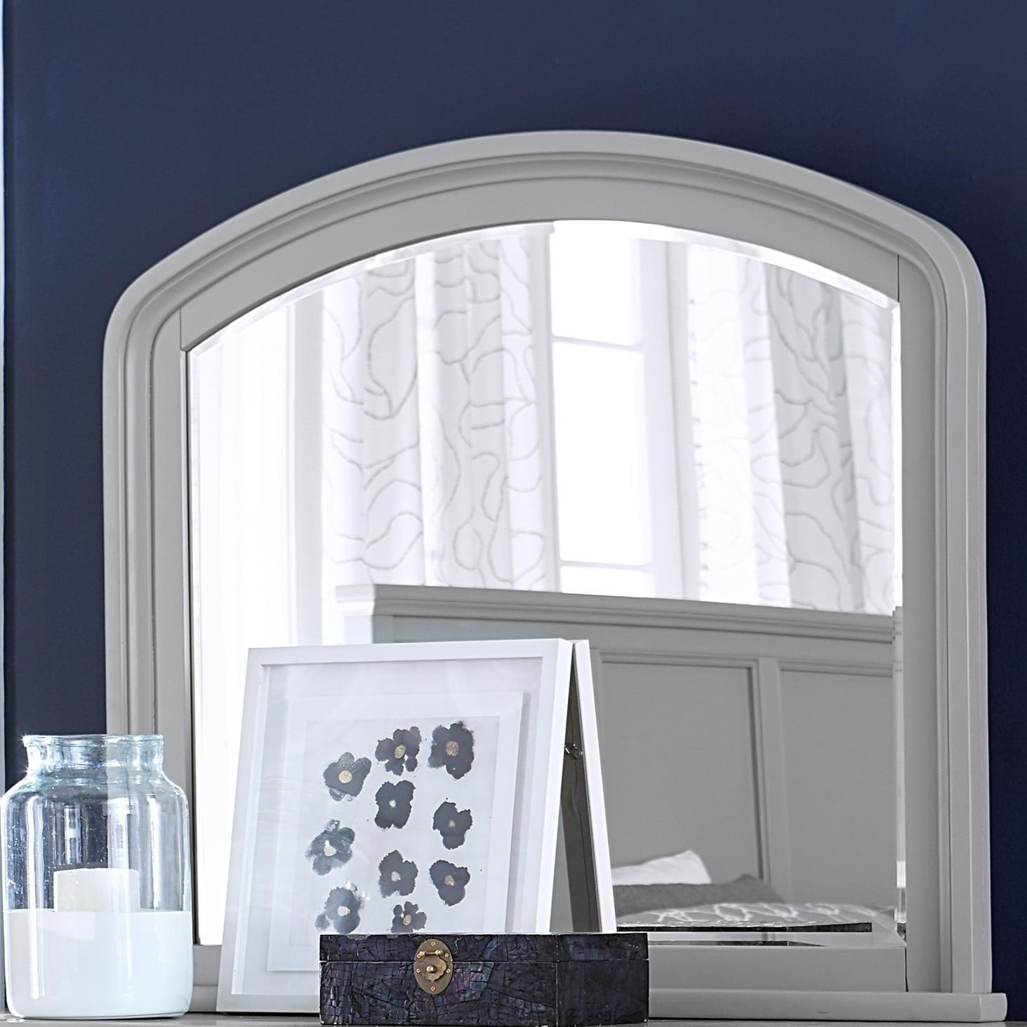 Cambridge Double Dresser Mirror by Aspenhome at Walker's Furniture