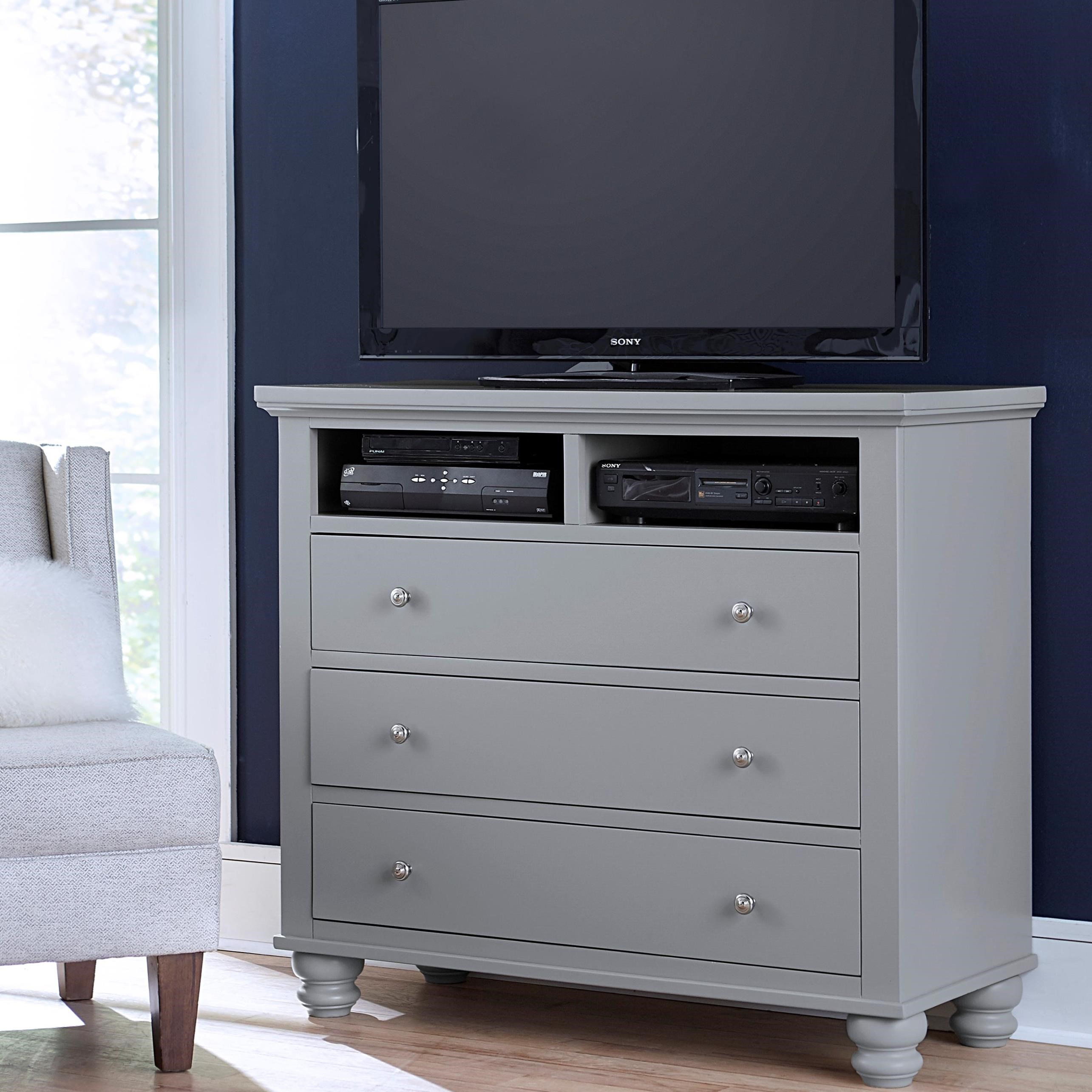 Cambridge Entertainment Chest  by Aspenhome at Baer's Furniture
