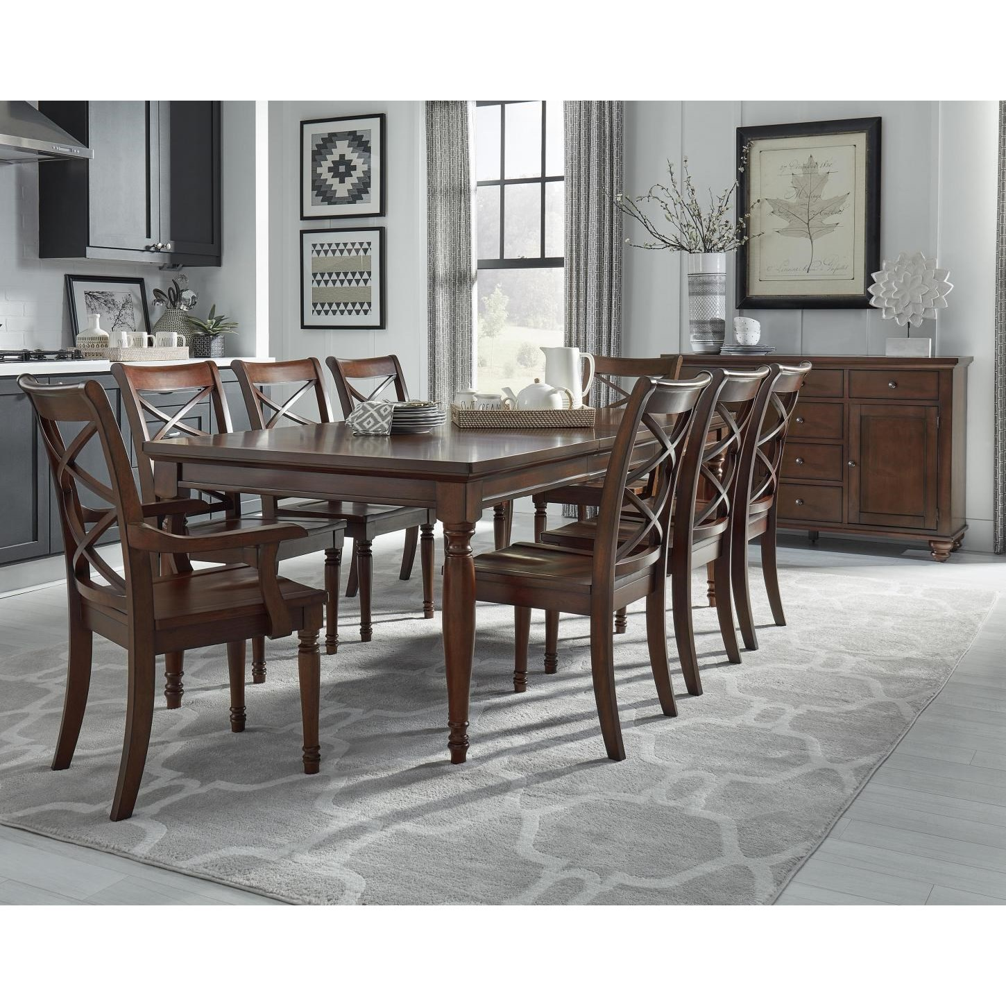 Cambridge Table & Chair Set by Aspenhome at Walker's Furniture