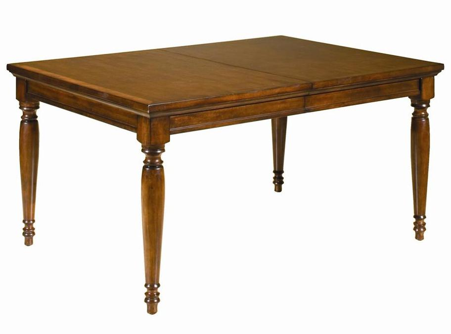 Cambridge Dining Leg Table by Aspenhome at Walker's Furniture